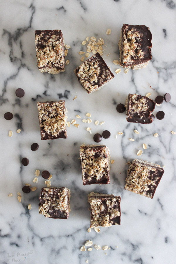 Salted Chocolate Almond Bars
