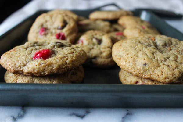 Browned Butter Cranberry Chocolate Chip Cookies-2