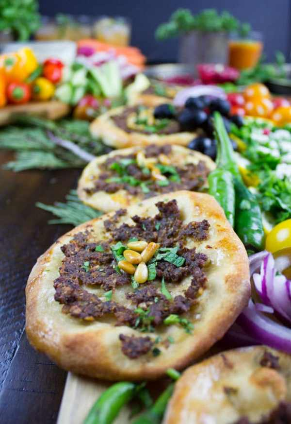 Game Day Mini Turkish Pizza Party • Two Purple Figs
