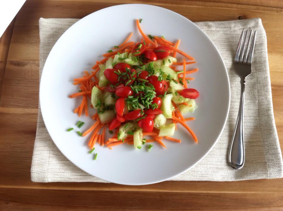 Healthy Garden Veggie Salad