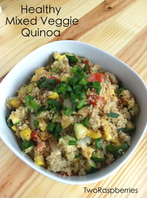 Healthy Mixed Veggies Quinoa