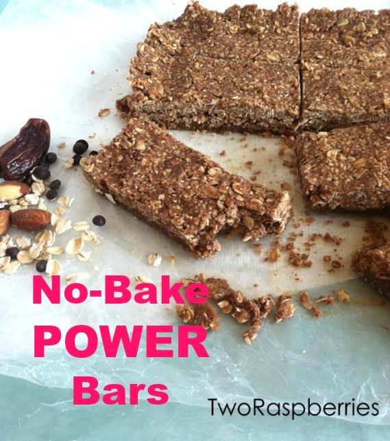 No-Bake POWER Bars