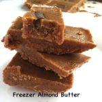 Almond Butter Freezer Fudge