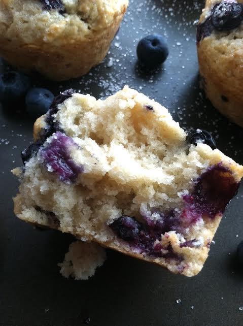 Amazing Blueberry Muffins - Vegan - TwoRaspberries - photo#14