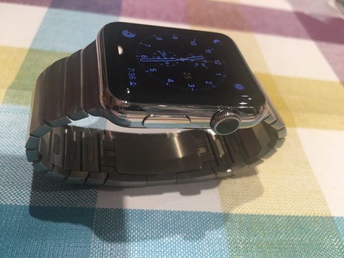 Correa de eslabones Apple Watch