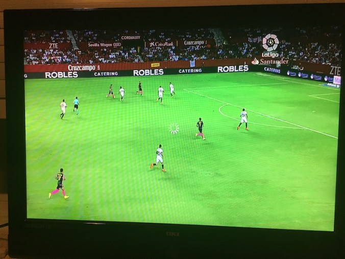 Video de un partido en App de La Liga para Apple TV
