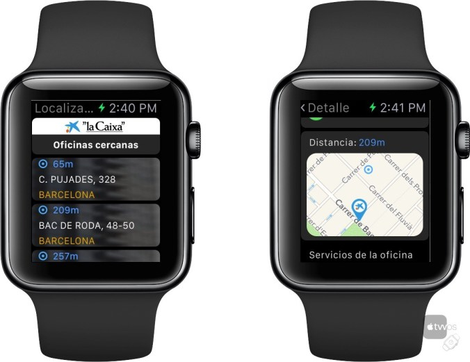 La Caixa para Apple Watch