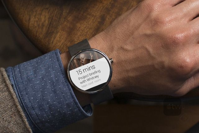 Notificaciones en un smartwatch