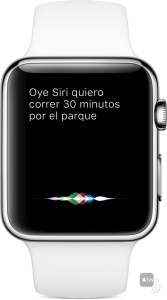 Siri en Apple Watch