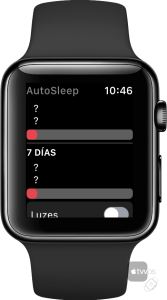 Autosleep para Apple Watch