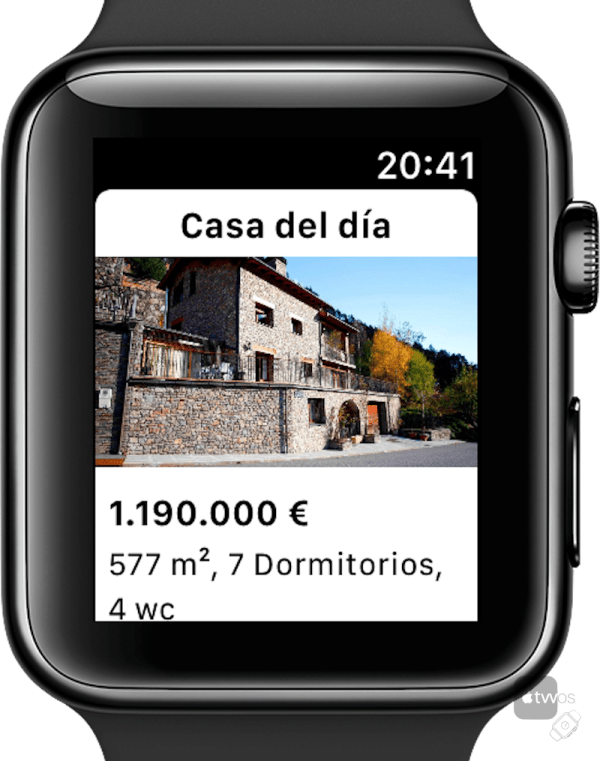 Idealista para Apple Watch
