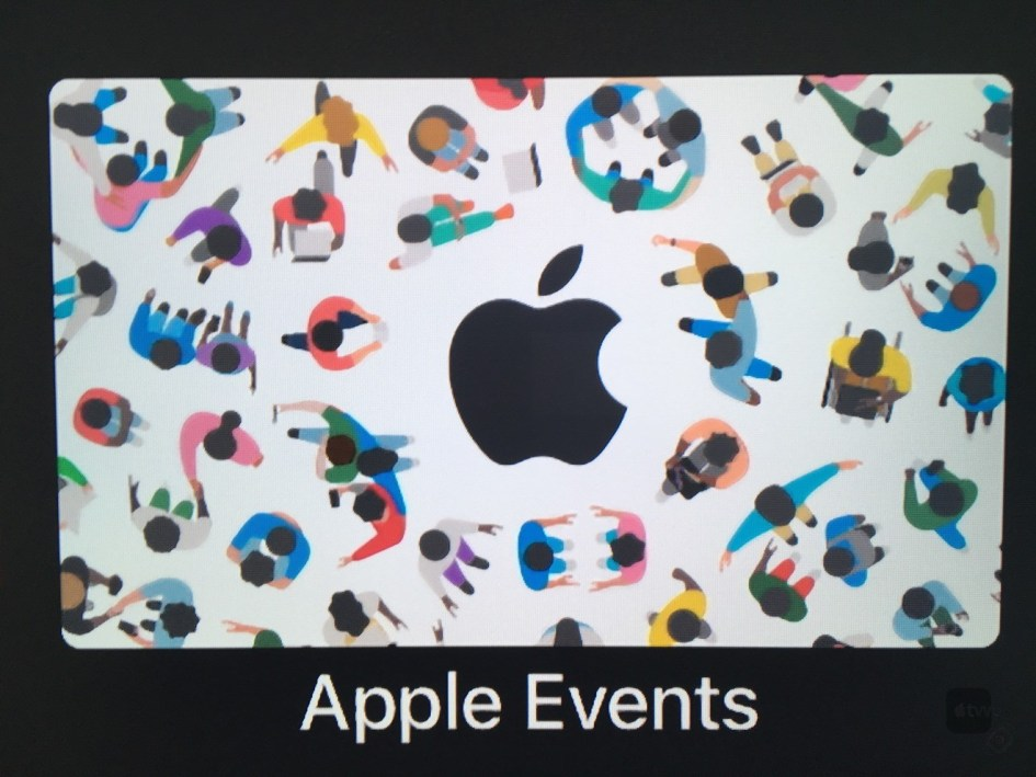 Apple Events con WWDC en Apple TV 4