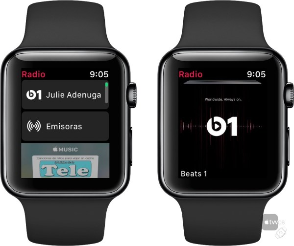 Radio en watchOS 4.1