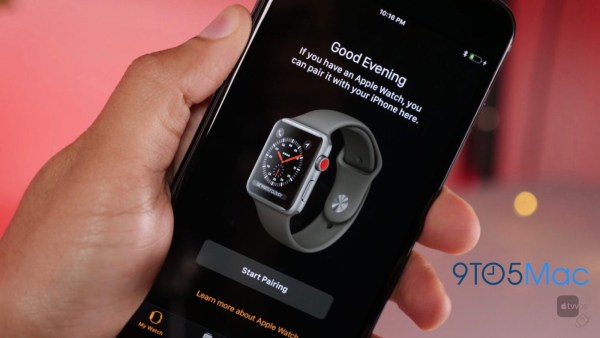 captura de Apple Watch con LTE