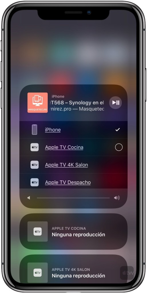 AirPlay 2 en iOS 11.3