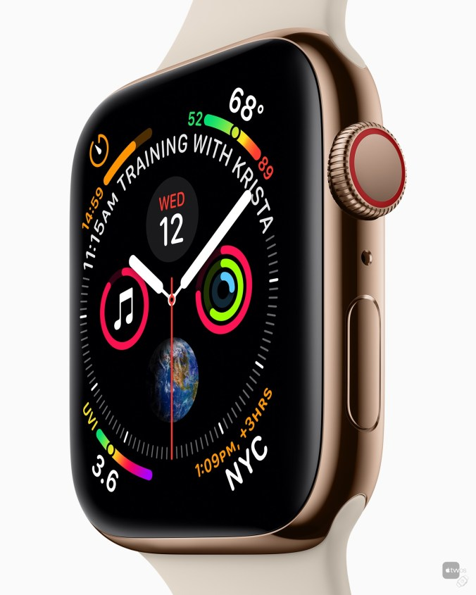 nueva esfera de Apple Watch Series 4