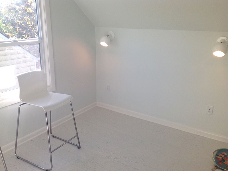 Painted Walls Complete in the Craft Studio and Home Office Remodel