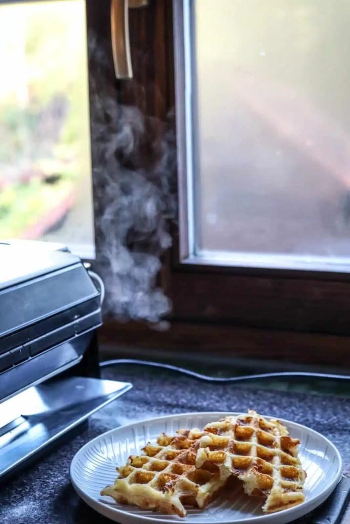 Waffle iron. easy breakfast recipes , homemade waffle recipes