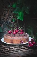 chocolate chai , cherries , sourdough, summer bake