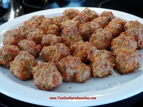 Lip Smacking Good Sausage Balls