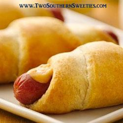 These Cheesy Crescent Dogs are not only quick and easy but they are delicious. Something the entire family will love