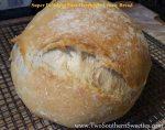 Super Delicious Easy Overnight Crusty Bread