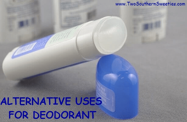 Deodorants can be used for many things such as clammy hands, bug bites, pimples freshen your closet and smelly feet just to name a few.