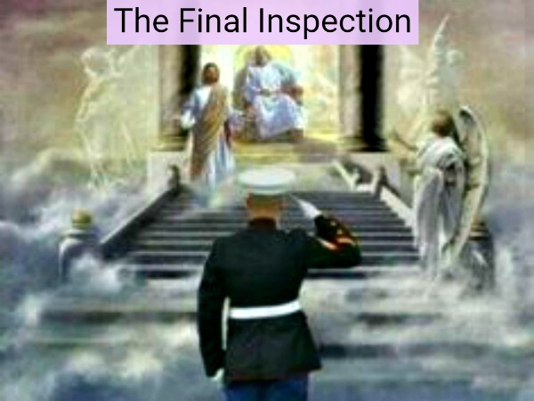 the final inspection