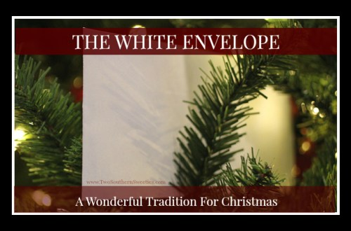 The White Envelope is a touching story and family tradition. This tradition has gone viral on our website and the White Envelope Project has taken off worldwide. The man who hated Christmas #thewhiteenvelope #whiteenvelope #christmastraditions