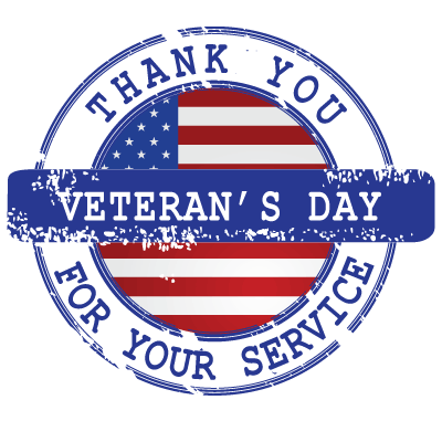 Veterans Day Deals By State