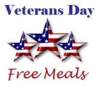 Veterans Day Meal Deals