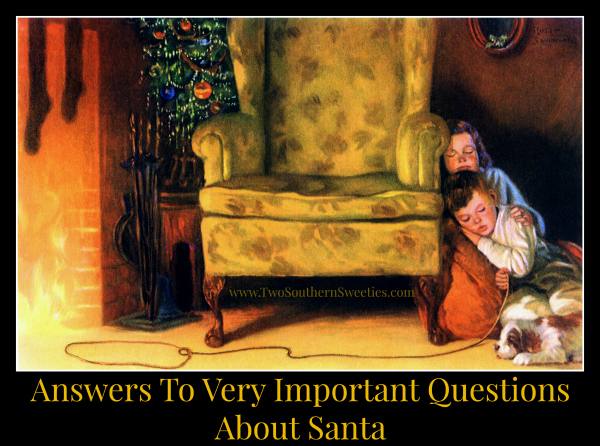 Answers To Very Important Questions About Santa