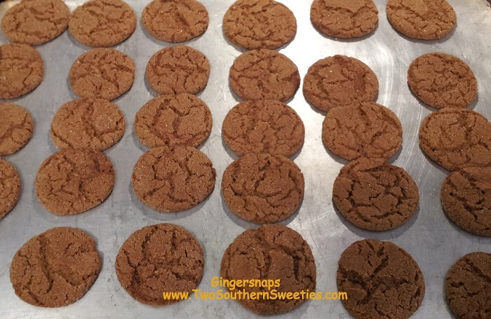 These Gingersnaps are the most requested holiday / Christmas Cookies.