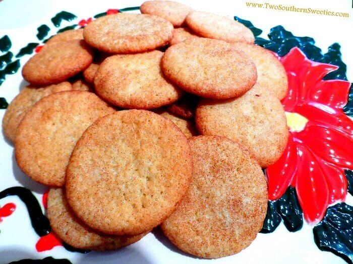These Snickerdoodles are a combination of sugar, cinnamon and soft moist deliciousness. Christmas Cookies, Holiday Cookies, Snickerdoodle #cookies