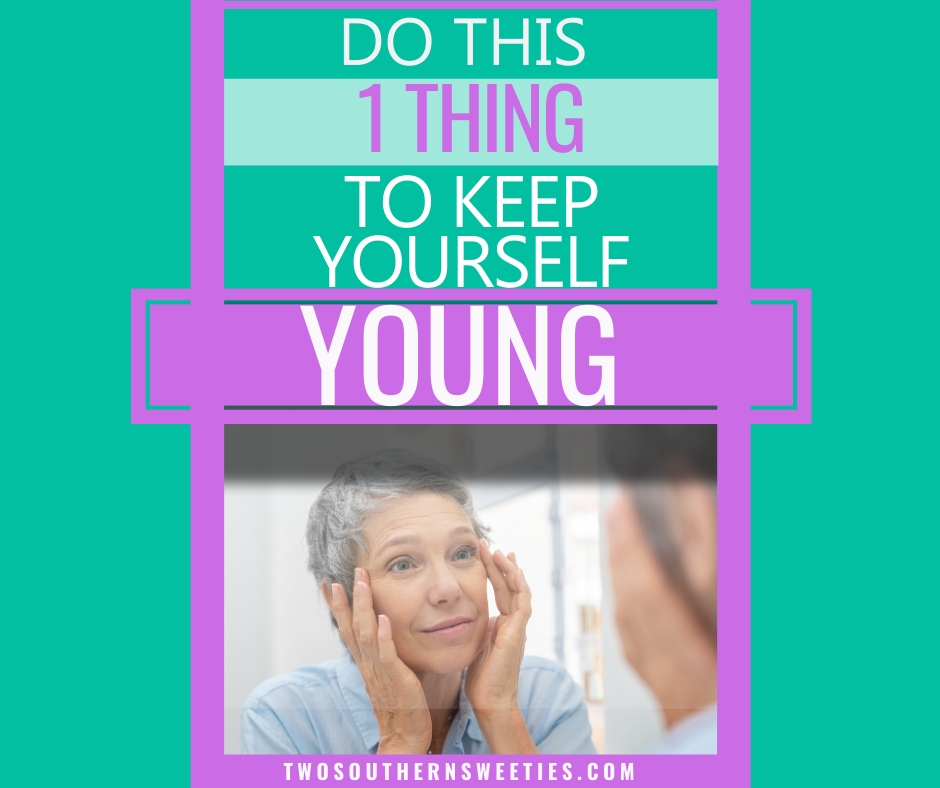 We will reveal the one thing you can do to keep yourself young. If you are midlife 50 plus 60s and up we will show you an anti aging secret for free #aging