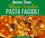 This Pasta Fagioli Soup is hearty, healthy, and delicious. This soup is even better than the Pasta Fagioli you get at Olive Garden! Pasta e Fagioli is another name for pasta fagioli #soup #olivegardencopycat #italiansoup #soup #pastaefagioli #pastafagioli