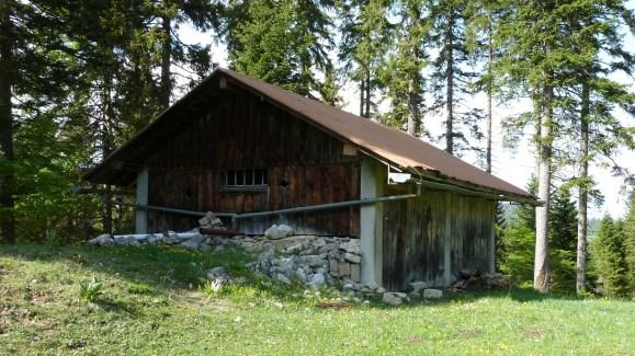 Abri non loin des Echadex - Vaud - Suisse
