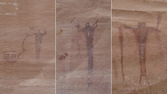 Buckhorn Wash Pictograph Panel - Utah