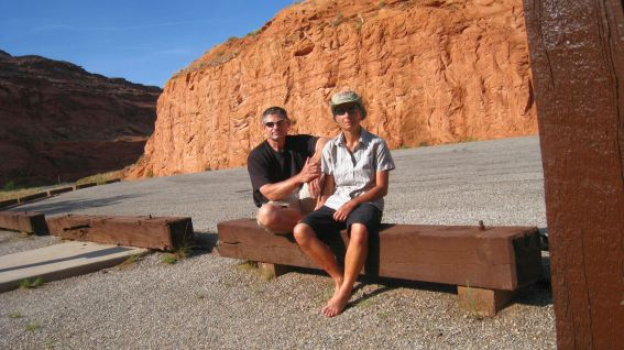 Hog Spring Canyon Trailhead - Garfield County - Utah
