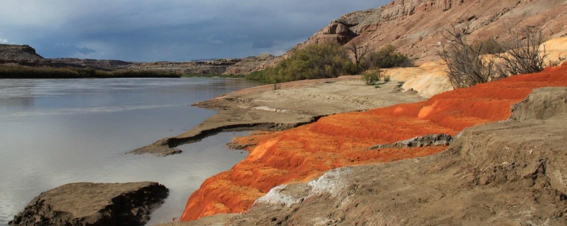 Crystal Geyser, près de Green River, dans l'Utah.