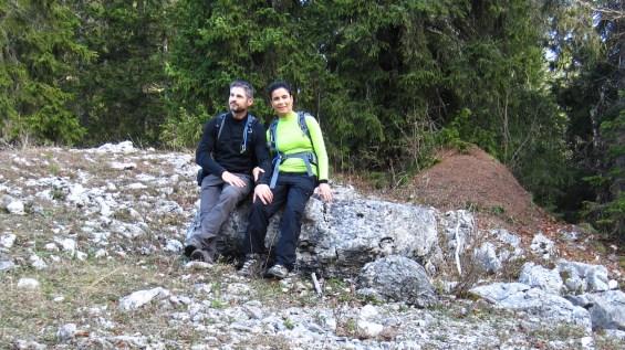 En sortant du Creux du Croue - Arzier-Le Muids - Vaud - Suisse