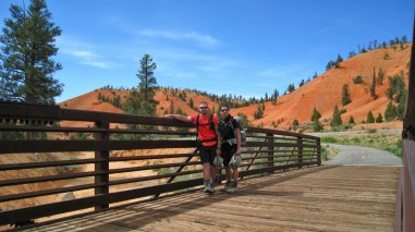 Red Canyon Bicycle Trail - Garfield County - Utah