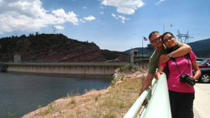 Flaming Gorge Dam - Daggett County, Utah