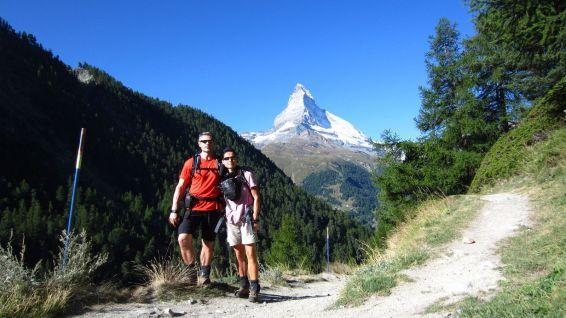 En montant à Findeln - Valais - Suisse