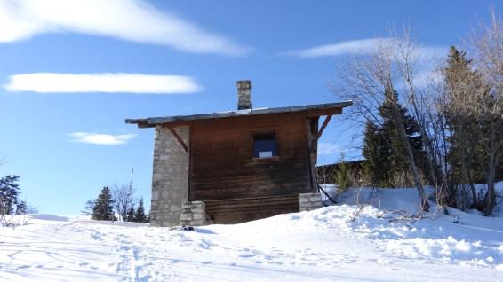 Cabane près du Restaurant de la Barilette - Vaud - Suisse