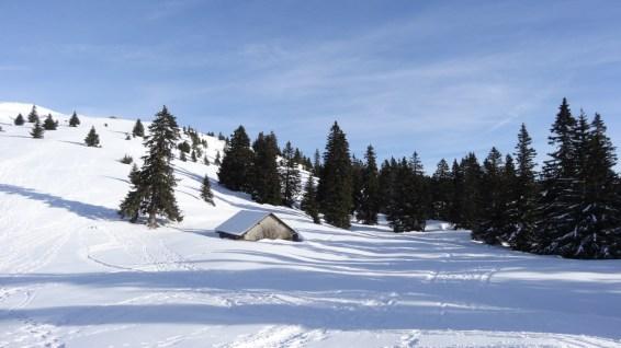 Couvert à proximité des Monts de Bière Derrière - Vaud - Suisse
