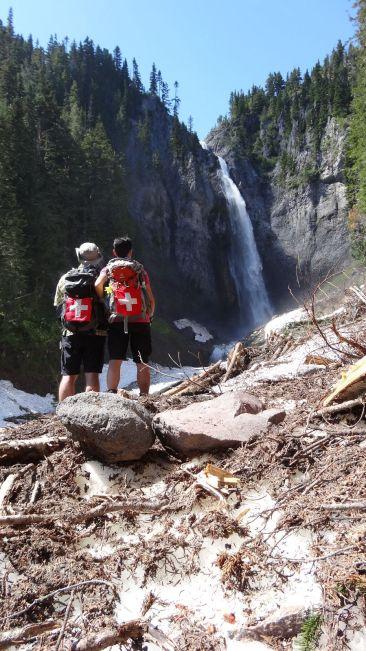 Comet Falls - Mount Rainier National Park - Washington