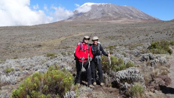 En route vers Kibo - Mount Kilimanjaro National Park - Tanzania