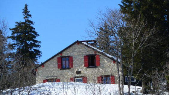 Cabane du Carroz (CAS) - Vaud - Suisse