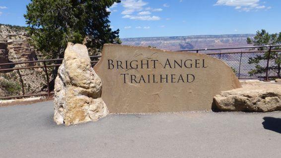 Bright Angel Trailhead, au Grand Canyon.